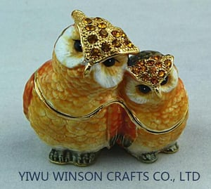 Mothers Day Gifts Owl Jewelry Box