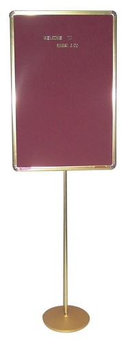 Brass Stand Gold Boards