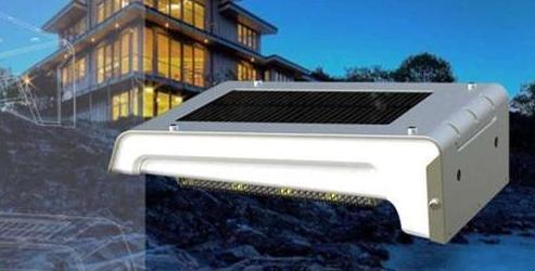 Mini Solar Motion Sensor Detector Light