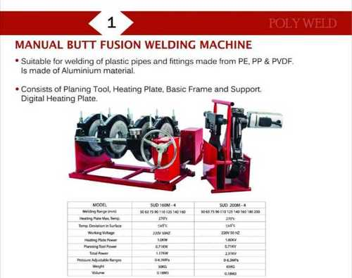 Hydraulic Butt Fusion Welding Machine