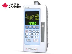 Programmable Volumetric Infusion Pump with Numeric Keypad and Large OLED Display