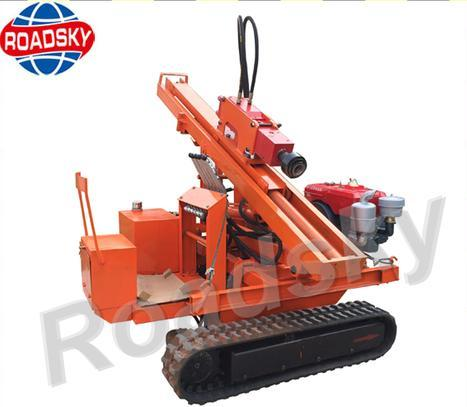Hydraulic Piling Machine for Guardrails at Best Price in