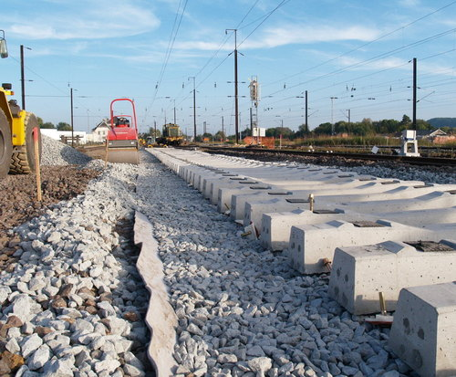 Non Woven Geotextiles For Rail Track Surfaces