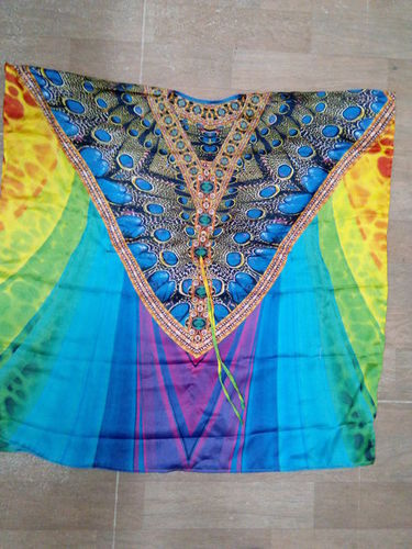 Attractive Digital Printed Kaftan