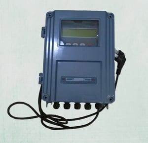 Wall Mount Ultrasonic Flow Meter With 7 Types Transducer
