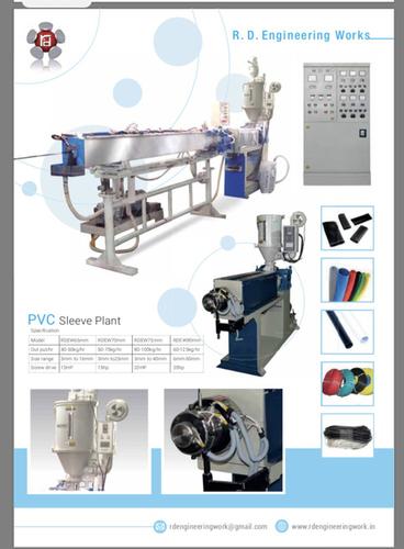 Pvc Sleeve Making Plant