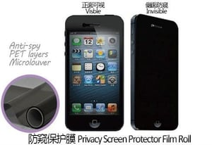 Mobile phone Privacy Screen Protector Film Roll