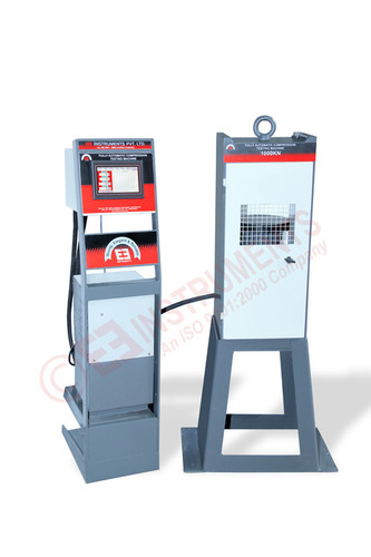 Automatic Concrete Cube Compression Testing Machine