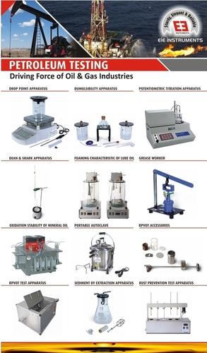 Oil, Grease & Petroleum Testing Equipment