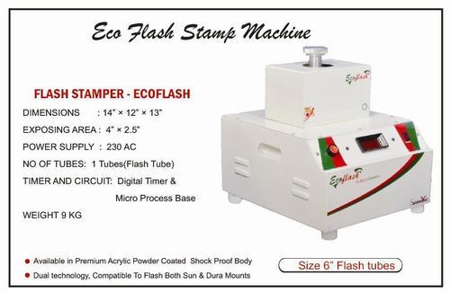 Eco Flash Stamp Making Machine