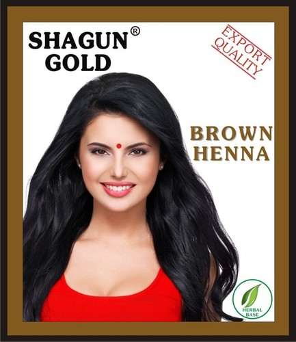 Brown Hair Color Henna