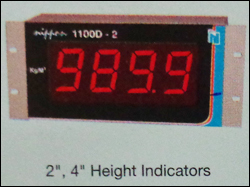 Large Height Indicators (1100d-2)