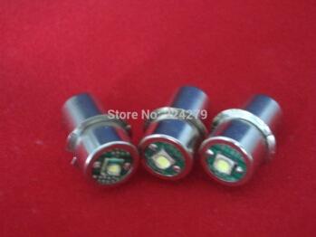 3 Watt LED Flashlight Bulbs Torch Bulb P13.5s