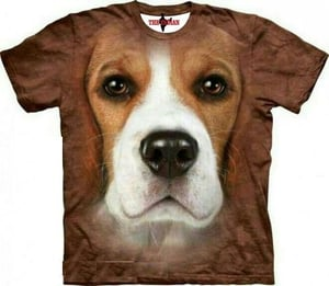 3D Printed Dogs T-Shirt
