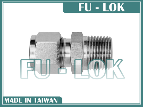 Durable Taiwanese Fu-Lok Compression Tube Fitting