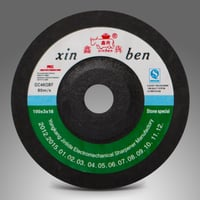 Abrasive Grinding Wheel For Power Tools