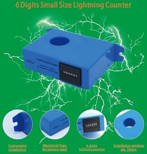 Electrical Lightning Counter
