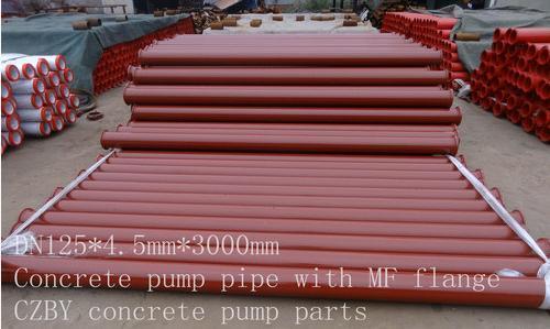 St52 Seamless Concrete Pump Pipe
