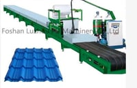 PLC Controlled Production Foaming Machine For Color Steel Plate