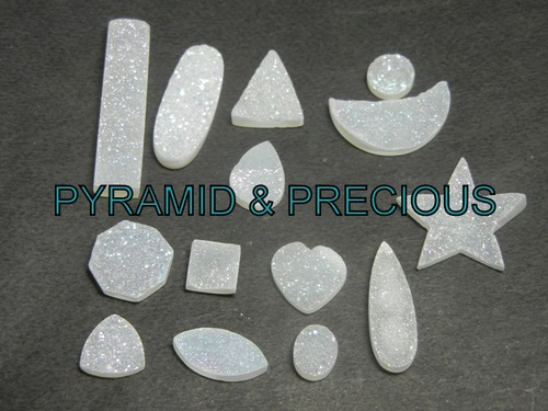 White Druzy Crystal