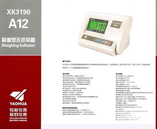 Weighing Machine Indicators