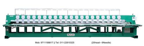 Korum Multi Head Embroidery Machine