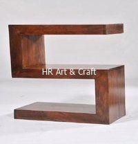 Modern Solid Wood Display Unit