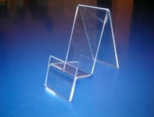 Mobile Display Stand With Price Tag Holder