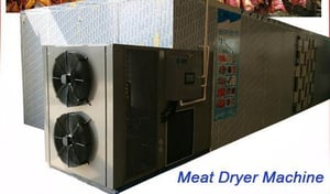 Hot Air Circulation Meat Drying System