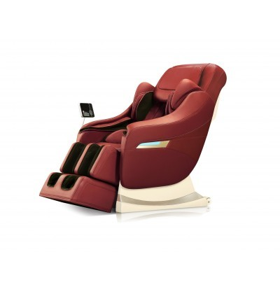 Robotouch Elite Full Featured Smart Luxury Zero Gravity Massage Chair - Amazing Professional Full Body Massage Therapy(Rose Red)