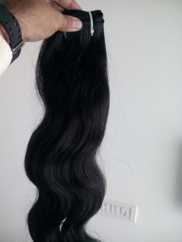 Girl Weaving Hair
