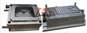 High Quality Air Cooler Plastic Injection Mould