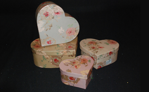 Heart Shaped Packaging Box