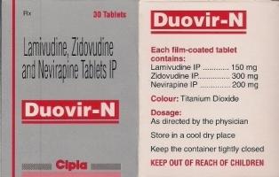 Lamivudine Zidovudine Neviropine Tablets