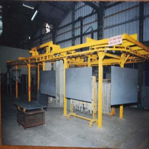 Four Wheel Overhead Conveyor