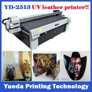 Uv Flatbed Inkjet Leather Printer For All Leather Products