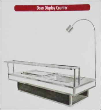 Dosa Display Counter (Steel And Wooden)