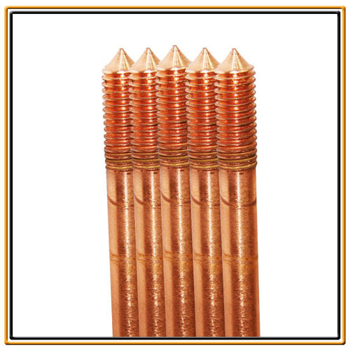 Copper Bonded Earthing Earth Rods