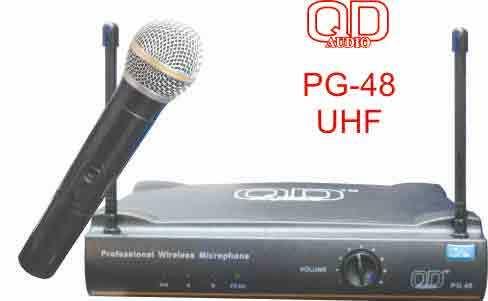 QD Audio UHF PG 48 Professional Microphone