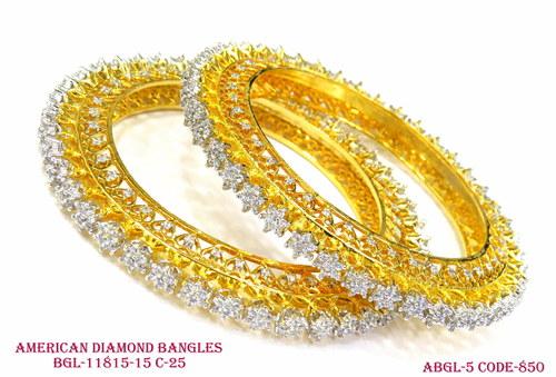 Amercian Diamond Bangles