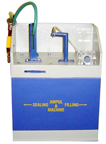 Ampoule Filling And Sealing Device