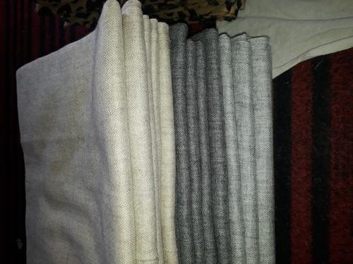Silk Wool Plain Stole
