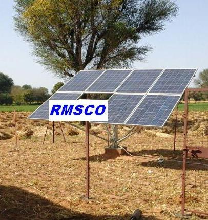 Solar Water Pump Structures