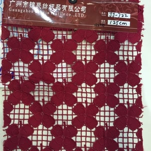 Water Soluble Lace Fabrics