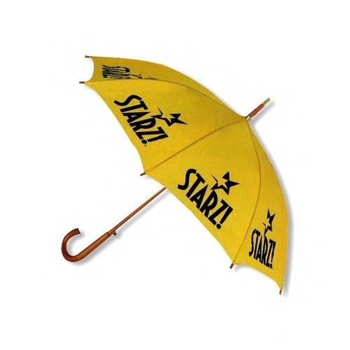 J Shape Wooden Umbrella