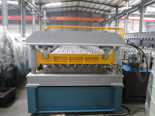 Metalic Roof Panel Roll Forming Machinery
