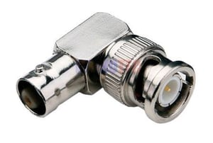 BNC Female To Male RF Adapters For Coaxial Cable