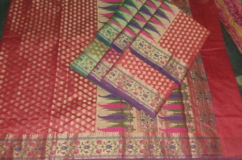 Saree Cotton Silk Tilfi