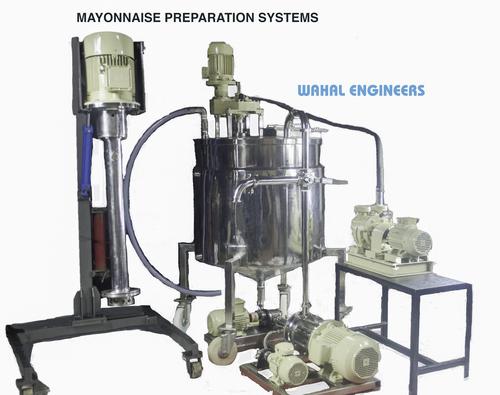 Mayonnaise Plant Machinery