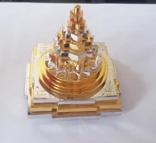 Gold And Silver Polish Shree Yantra